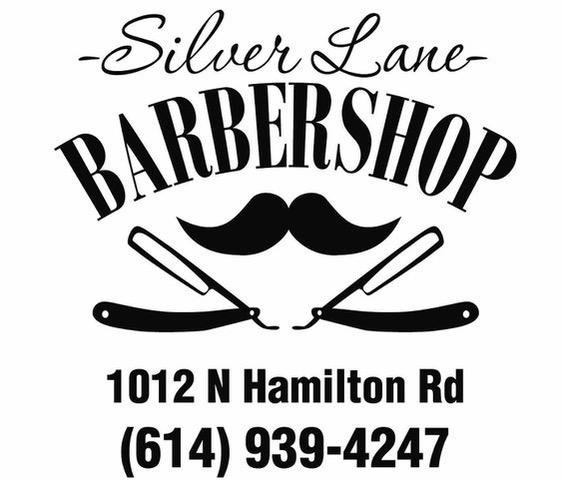 Silver Lane Barbershop Logo
